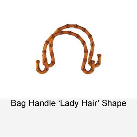 BAG HANDLE LADY HAIR SHAPE