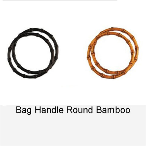BAG HANDLE ROUND BAMBOO