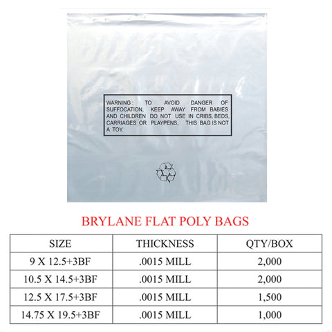 FLAT BAG BRYLANE POLY