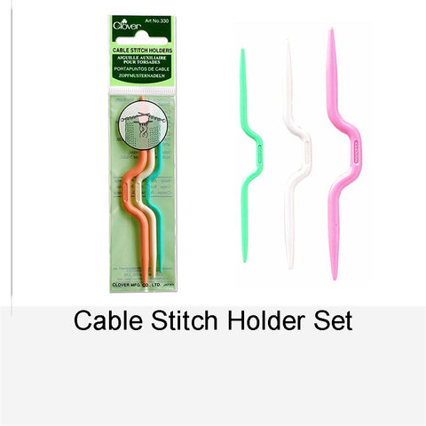 CABLE STITCH HOLDER SET