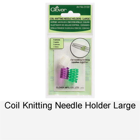 COIL KNITTING NEEDLE HOLDER LARGE