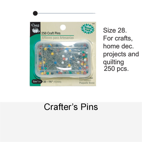 CRAFTTER'S PINS