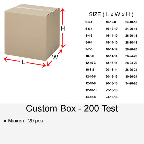 CUSTOM BOX 200 TEST
