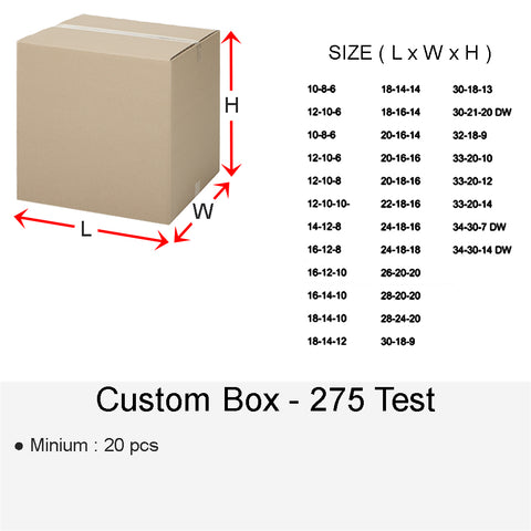 CUSTOM BOX 275 TEST