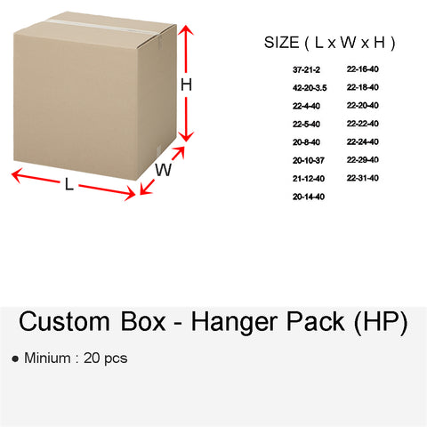 CUSTOM BOX HANGER (HP)