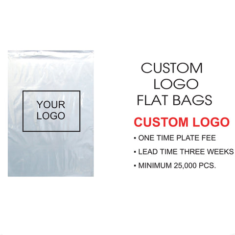FLAT BAG CUSTOM LOGO