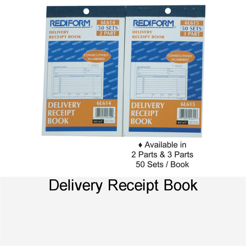 DELIVERY RECEIPT BOOK
