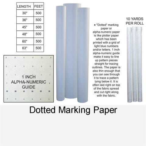 DOTTED MARKING PAPER