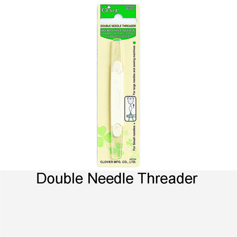 DOUBLE NEEDLE THREADER