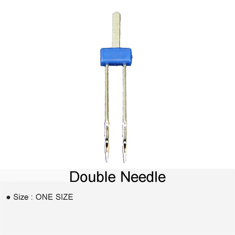 DOUBLE NEEDLE