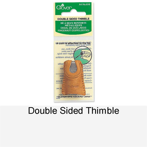 DOUBLE SIDED THIMBLE