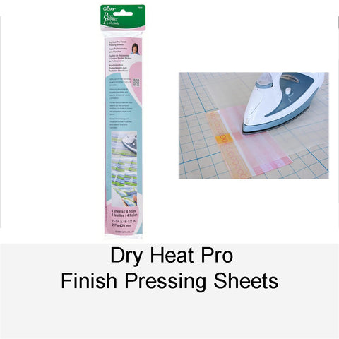 DRY HEAT PRO FINISH PRESSING SHEETS