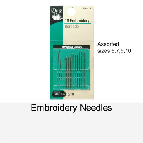 EMBROIDERY NEEDLES - 16-1