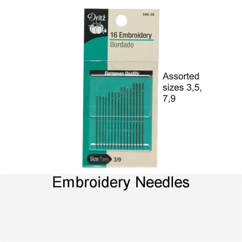 EMBROIDERY NEEDLES - 16
