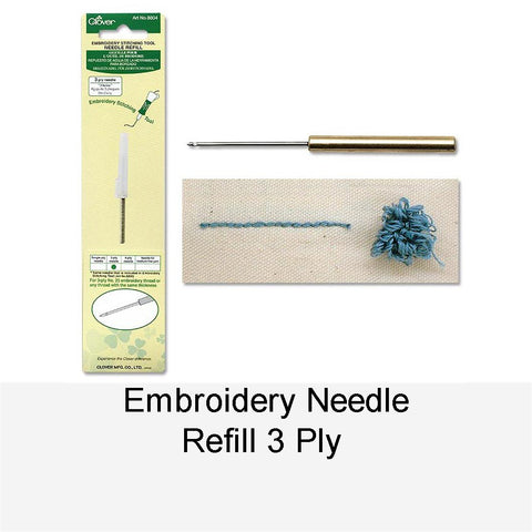 EMBROIDERY NEEDLE REFILL 3 PLY