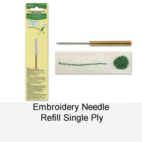 EMBROIDERY NEEDLE REFILL SINGLE PLY