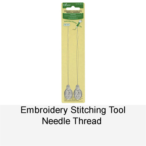 EMBROIDERY STITCHING TOOL NEEDLE THREADER