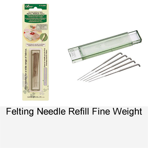 FELTING NEEDLE REFILL FINE WEIGHT