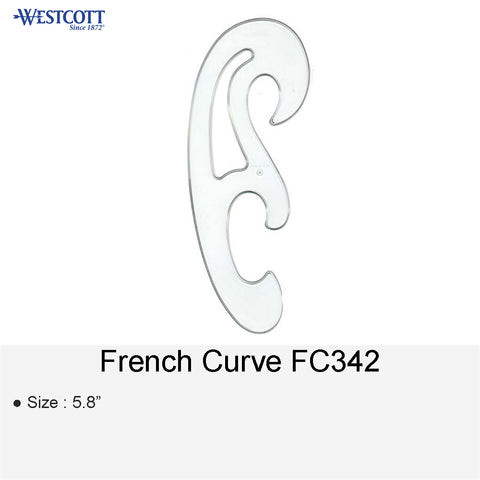FRENCH CURVE FC342