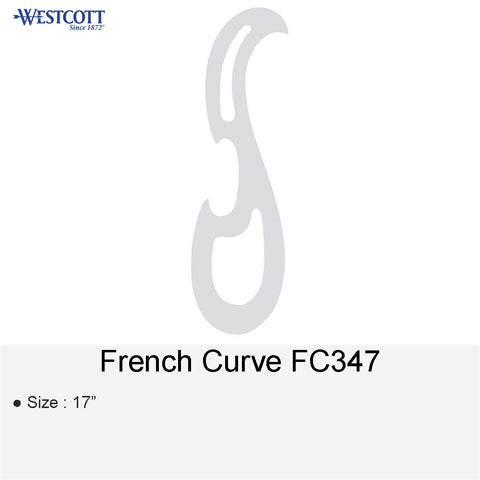 FRENCH CURVE FC347