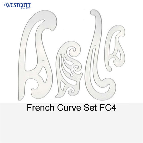 FRENCH CURVE SET FC4
