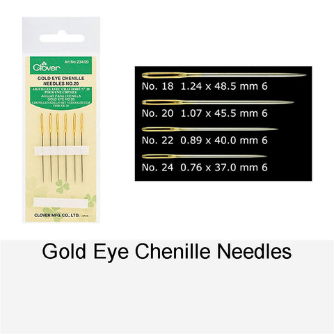 GOLD EYE CHENILLE NEEDLE NO.20