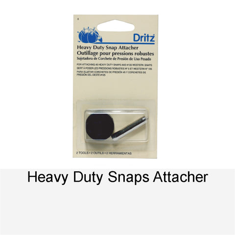 HEAVY-DUTY SNAPS ATTACHER