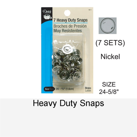 HEAVY-DUTY SNAPS NK