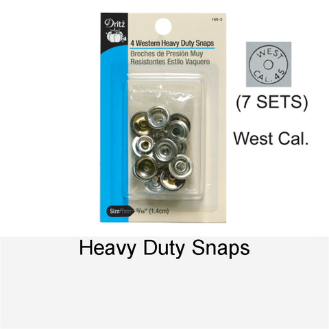 HEAVY-DUTY SNAPS WC
