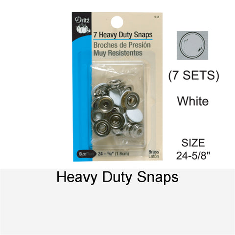HEAVY-DUTY SNAPS WT