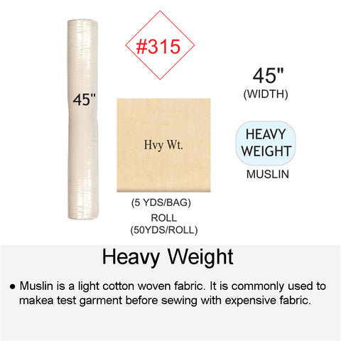 HEAVY WEIGHT MUSLIN