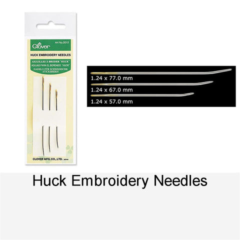 HUCK EMBROIDERY NEEDLES