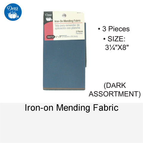IRON-ON MEDDING FABRIC ASSORTMENT