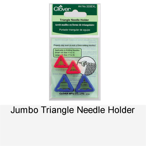 JUMBO TRIANGLE NEEDLES HOLDER