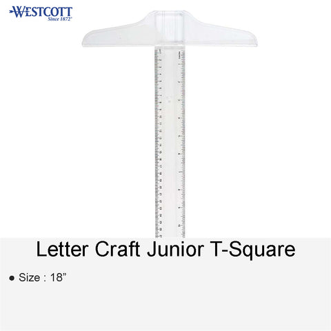 LETTER CRAFT JUNIOR T-SQUARE 18""