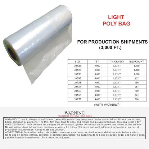 POLY BAG - LIGHT