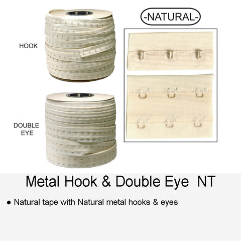 METAL HOOK & DOUBLE EYE NT