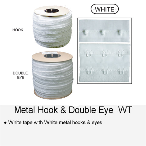 METAL HOOK & DOUBLE EYE WT