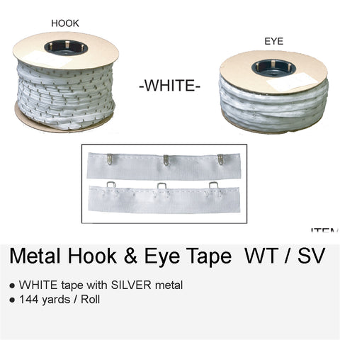 METAL HOOK & EYE WTSV