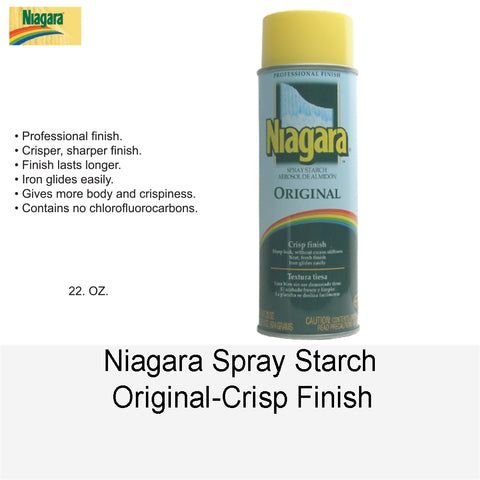 NIAGARA SPRAY STARCH ORIGINAL-CRISP FINISH