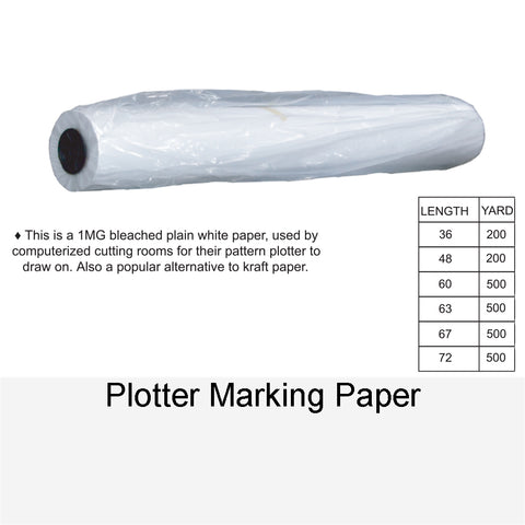 PLOTTER MARKING PAPER