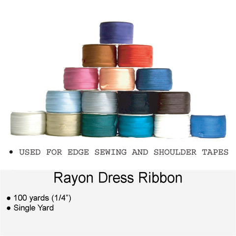 RAYON DRESS RIBBON