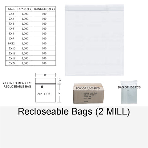 RECLOSABLE BAG