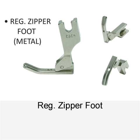 REG. ZIPPER FOOT METAL