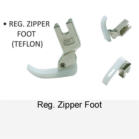REG. ZIPPER FOOT TEFLON