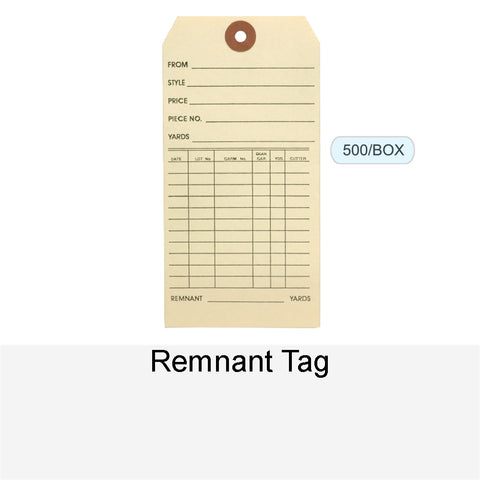 REMNANT TAG