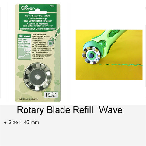 ROTARY BLADE REFILL WAVE