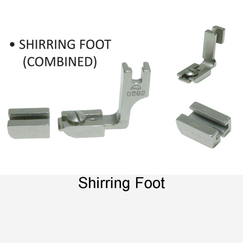 SHIRRING FOOT COMBINED