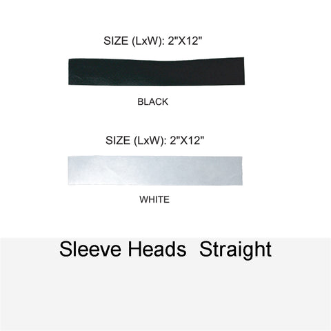 SLEEVE HEADS STRAIGHT