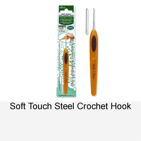 SOFT TOUCH STEEL CROCET HOOK